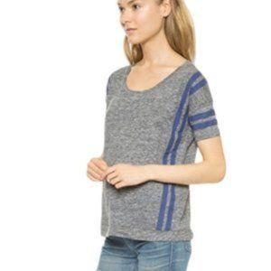 Madewell Stripped linen top